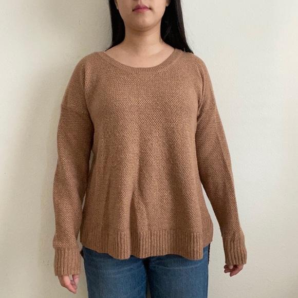 Madewell   Crewneck Camel/Tan  Sweater sz S